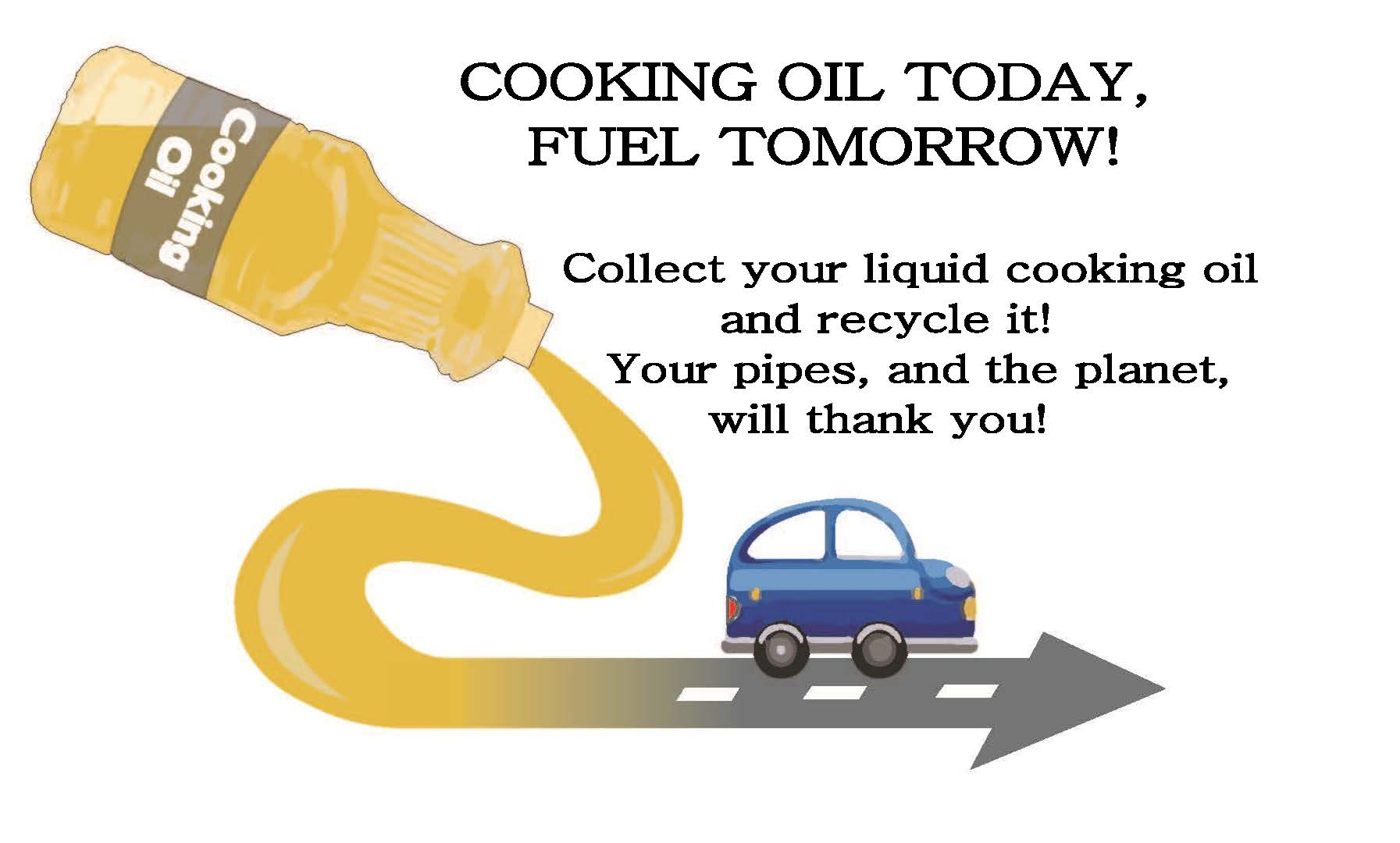 Flyer- car cooking oil