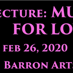 LECTURE: Musicals for Lovers