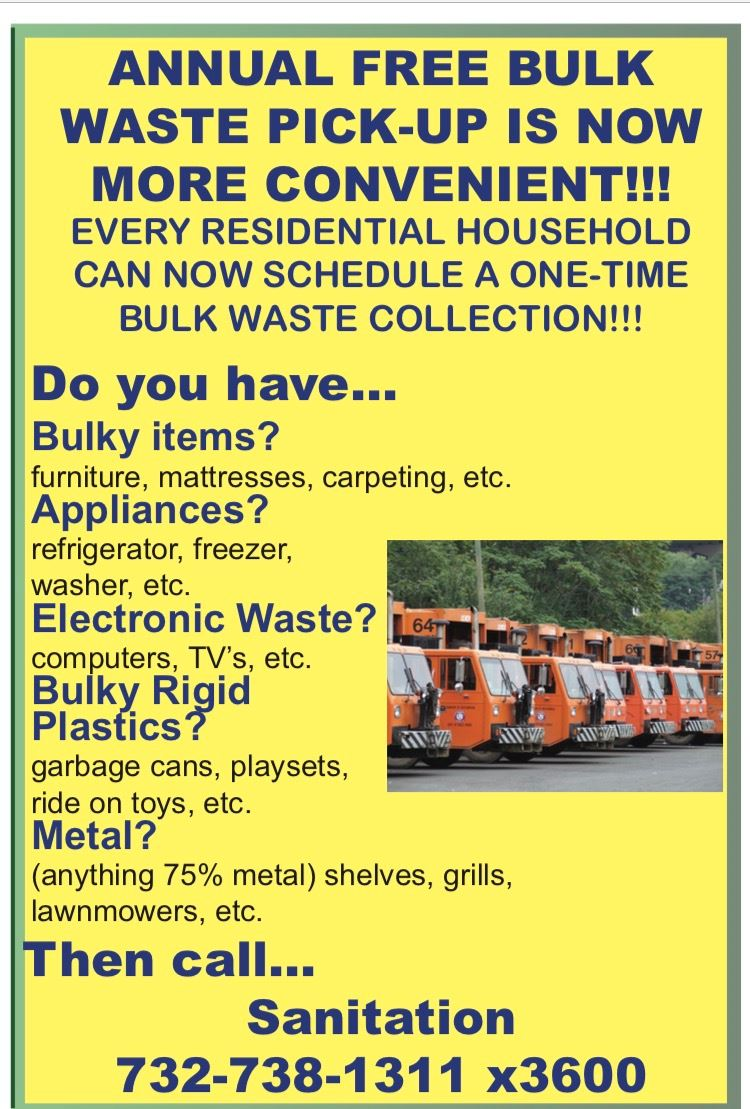 Bulk WastePick-Up Flyer - 2017