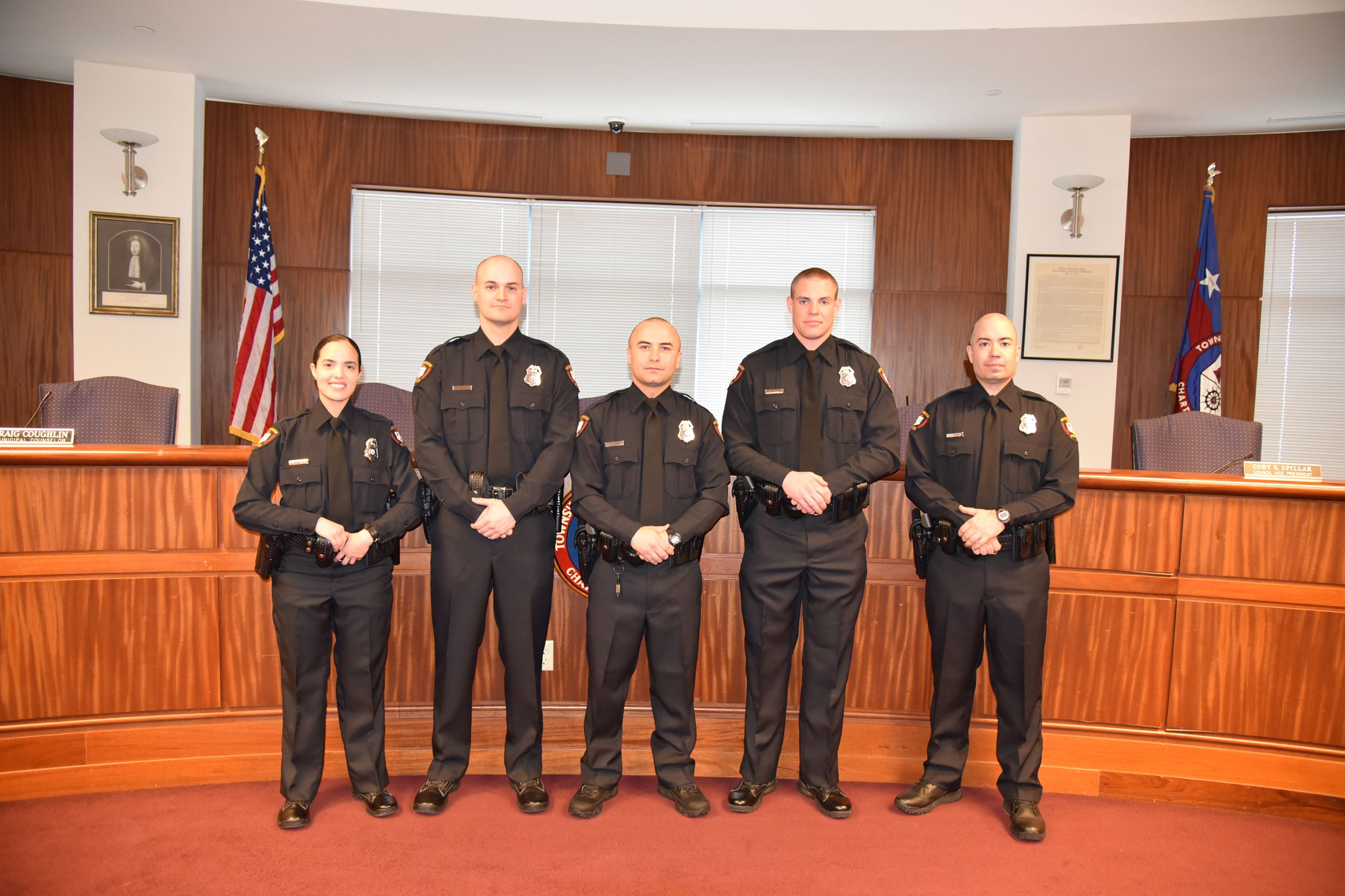 WPD New Officers 1 - 1-12-18