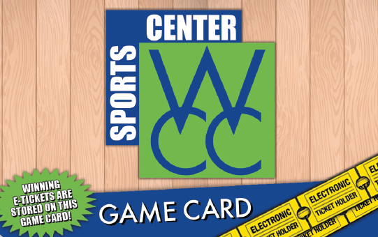 WCC Game Card