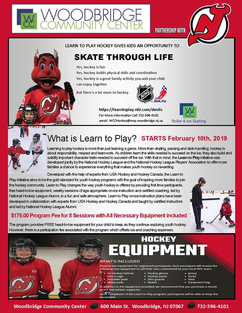 devils learn to play february