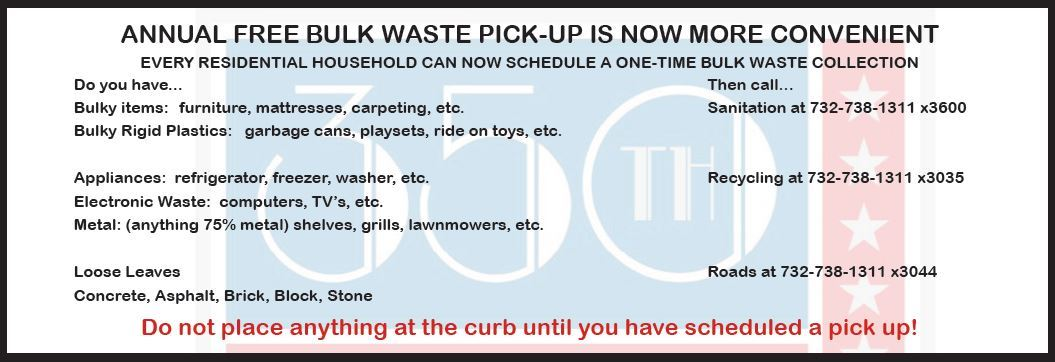 DPW Bulk Pick-Up_Program 2019