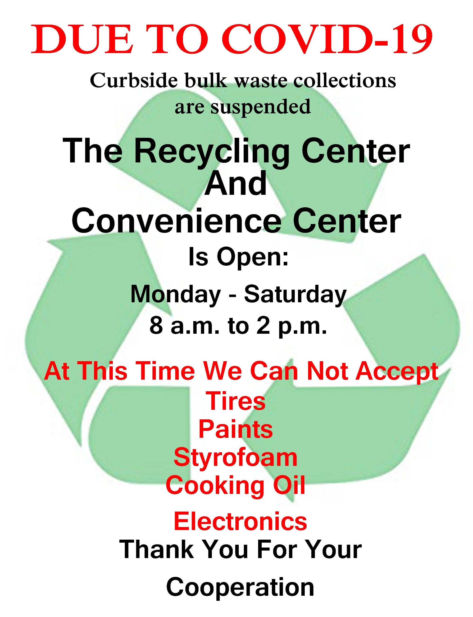 Recycling Flyer
